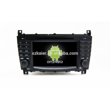 Quad core !android 4.4 car dvd player for benz C +factory directly +OEM+DVR!